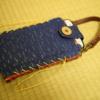 【着物】京藍友禅のスマホバッグを買いました。